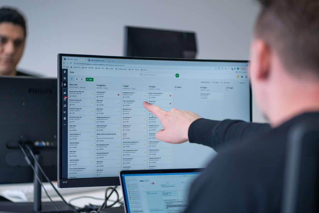 Marketing Automation for Real Estate with AMAI.IMMO / Marketing automatisatie voor vastgoedbedrijven in België & Nederland.