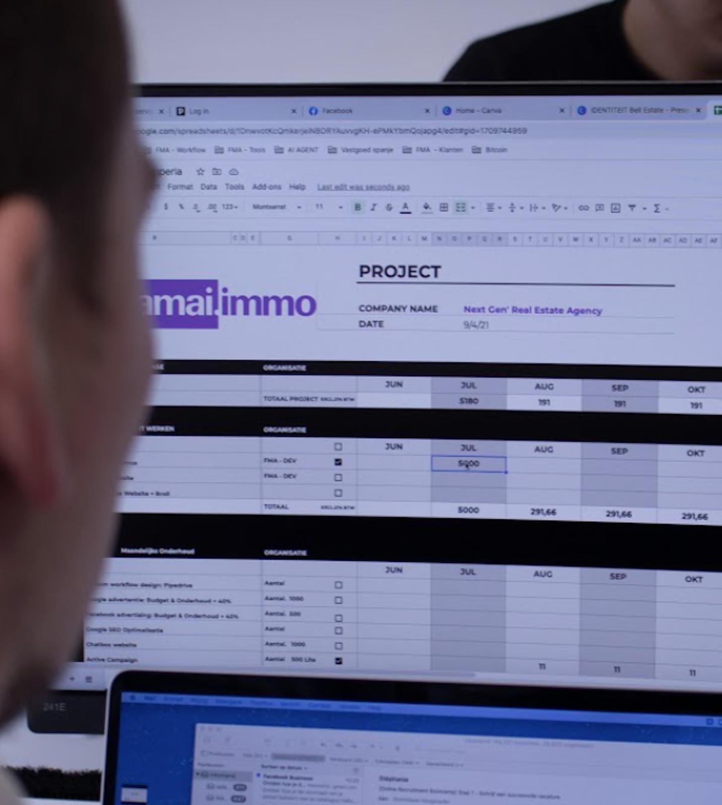 Marketing Automatisatie Bureau voor vastgoedbedrijven en projectontwikkelaars - AMAI.IMMO