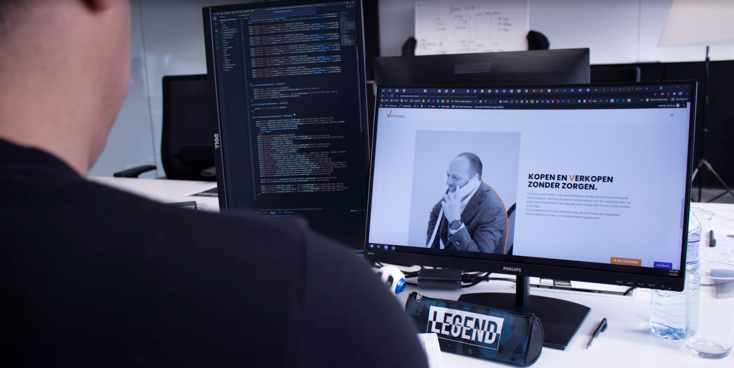 Development voor vastgoed bedrijven customer automatisatie - AMAI.IMMO